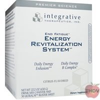 Integrative Therapeutics - End Fatigue Daily Energy Enfusion Citrus Flavor 25.7 Oz.