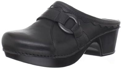Dansko Women's Hattie Clog,Black,42 EU/11.5-12 M US