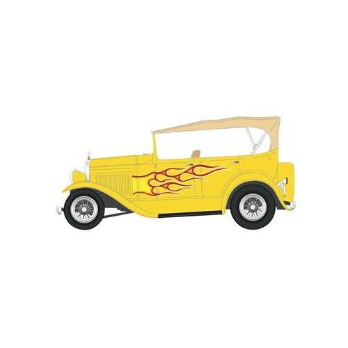 24 30 Ford Model A Touring Street Rod Plastic Model Kit Toys & Games