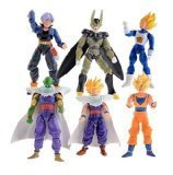 Dinglongshan Dragonball Z Saiyan action figures Goku Piccolo Action Figures Toys Children Kids Christmas Gift Classic Collection Set Toy Anim Multicol by Dinglongshan