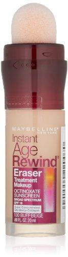 Maybelline New York Instant Age Rewind Eraser Treatment Makeup, Buff Beige 130, 0.68 Fluid Ounce