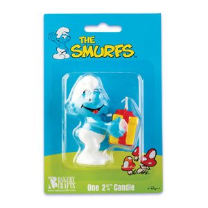 Smurf Birthday Cake
