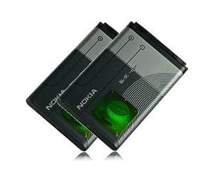 Nokia M&L Mobiles | 2X Battery Bl-5C Genuine N70 Musicedition | N72 | N91 | N91 8Gb | N-Gage