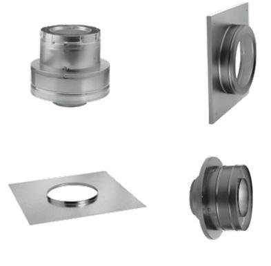 Masonry Chimney Conversion Kit (Through Ceiling Chimney Kit compare prices)