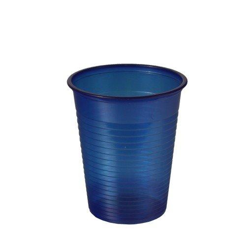 Gobelet/lot de 100 gobelets plastique (bleu)