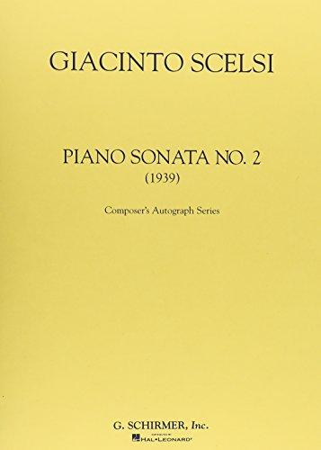 Sonata No. 2 (1939): Piano Solo