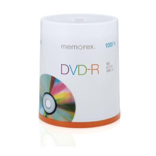 Memorex 16X DVD-R 100-Pack Spindle