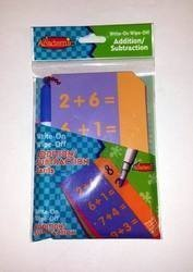 It's Academic - Write-on Wipe-off Educational Addition/subtraction
