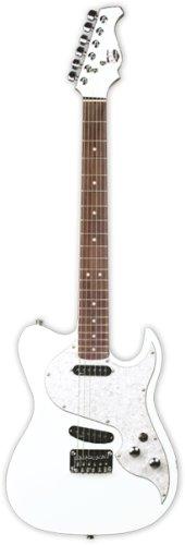 Axl Marquee Eldorado Electric Guitar, Olympic White