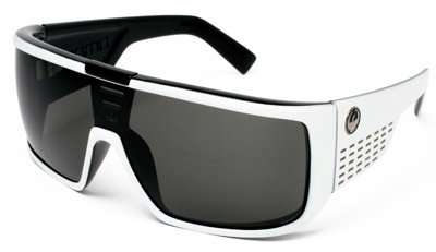 DRAGON ALLIANCE SUNGLASSES (DOMO WHT/BLK GRY) SPRING 2010