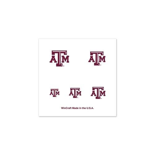 "Texas A&M Aggies Official NCAA 1"" Fingernail Tattoo Set by Wincraft"