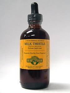 Herb Pharm Milk Thistle - 4 Oz