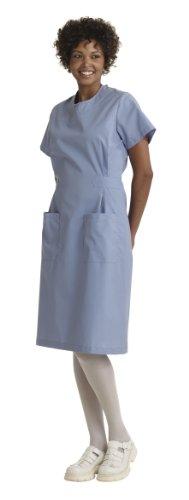 Medline Step-In Scrub Dress, XXXX-Large, Ceil Blue