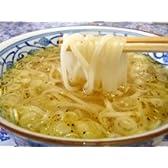 比内地鶏の鶏塩スープで食べる稲庭うどん【ご家庭用】4食入