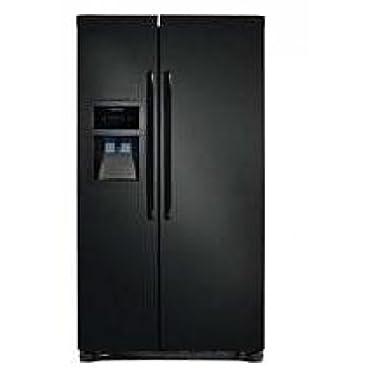 Frigidaire FFHS2322MB, Side by Side, 22.6 Cubic Ft Refrigerator, Black