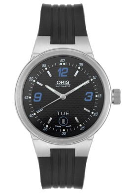 Oris Men's 63575604145RS Williams F1 Team Collection Automatic Black Rubber Watch