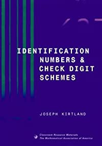 IDENTIFICATION NUMBERS AND CHECK DIGIT SCHEMES