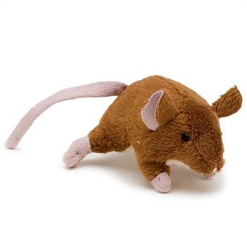 CFA Active Cat House Mouse with Catnip in Brown