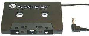GE iPod Cassette Adapter - Black JASAV23627