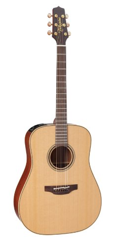Takamine Pro Series 3 P3D Dreadnought Body Acoustic Electric Guitar With Case