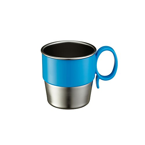 Innobaby Din Smart Stainless Cup, Blue, 9.5 Ounce