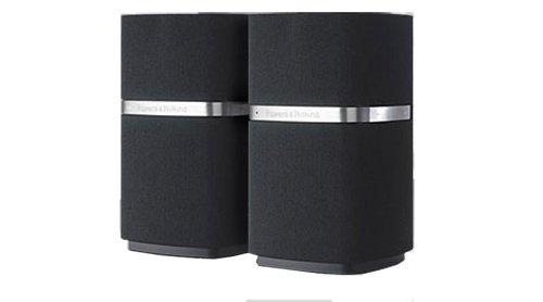 B&W MM-1 HiFi PC Lautsprecherpaar (Audioübertragung via USB) schwarz/aluminium