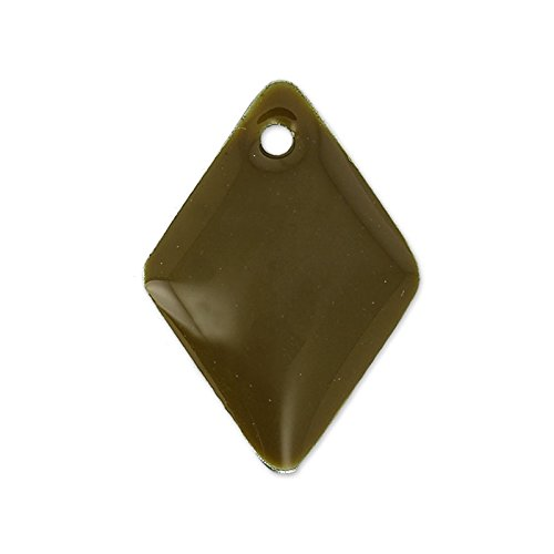 rombi-in-smalto-epossidico-15-mm-smoky-quartz-x8