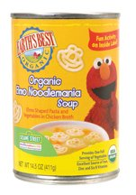 Earth's Best Baby Foods Elmo Noodlemania, 14.5-Ounce (Pack of 12) ( Value Bulk Multi-pack)