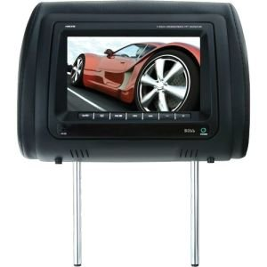 Boss Audio HIR7M Universal Headrest with Pre-Installed 7-Inch Widescreen TFT Video Monitor