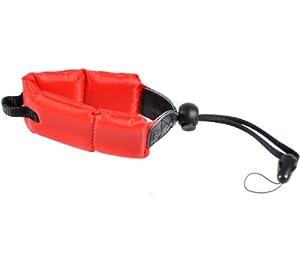 CowboyStudio Red Foam Floating Wrist Strap for UnderWater/WaterProof Cameras - Red