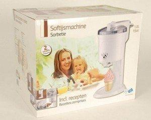 Sorbetiere 1l machine a glace italienne livret de - Machine glace italienne pour maison ...