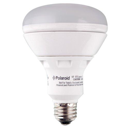 Polaroid Lighting Plbr30-65.650.9.1D 65-Watt Equivalent 650-Lumen Br30 Dimmable Led Light Bulb
