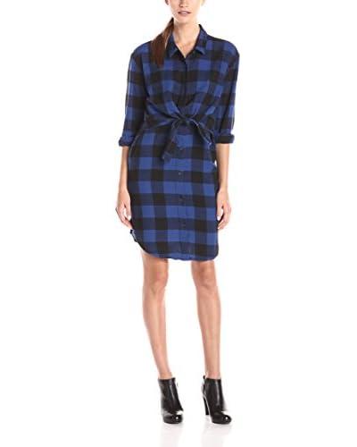 Cheap Monday Vestido Camisero Raw Azul