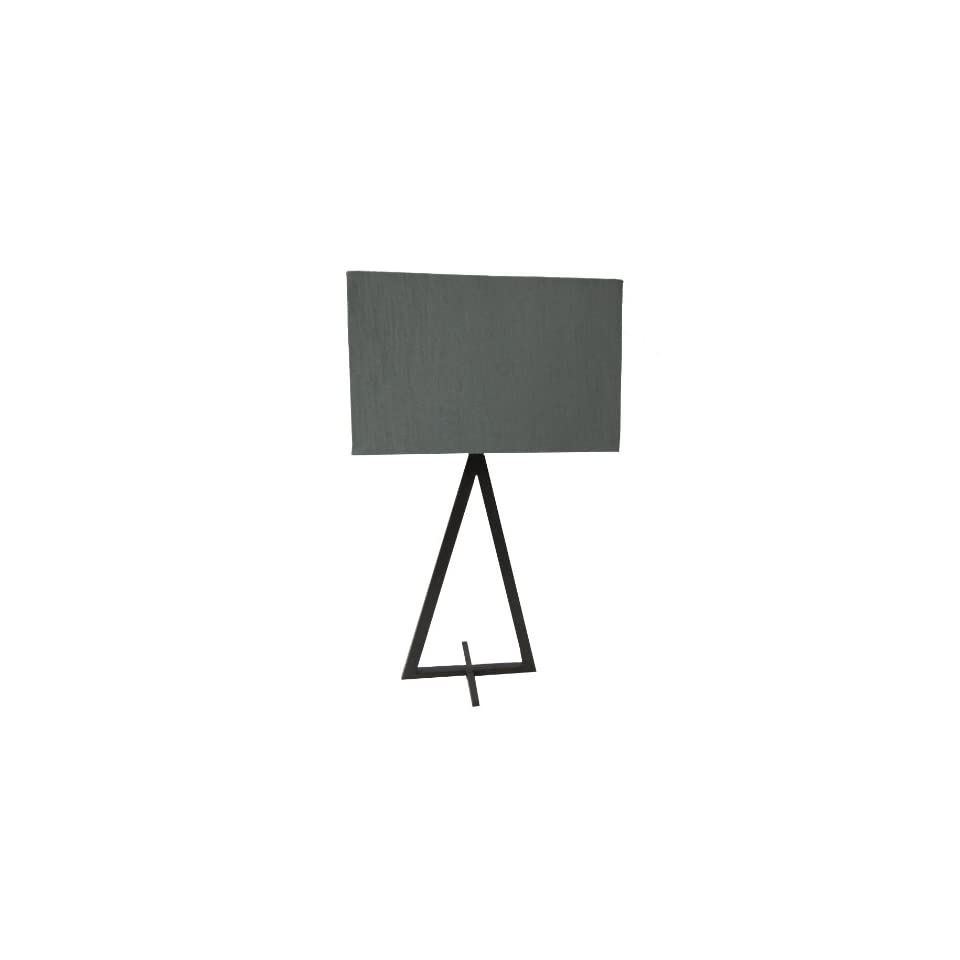 Yosemite Home Decor PTL579 23.25 Inch Table Lamp with Rectangular Shade