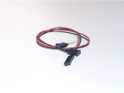 Led Panel Mount Indicators Rect Yel 590Nm Diff Lens W/Wire (1 Piece)