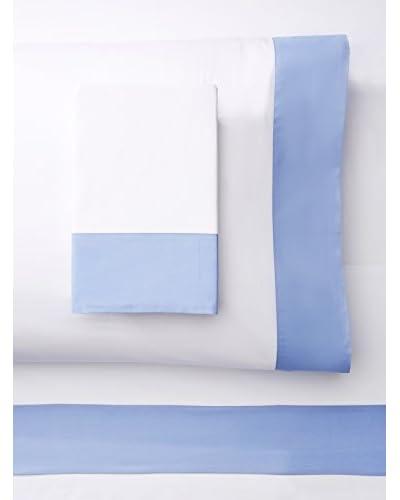 Errebicasa Luna Percale Sheet Set