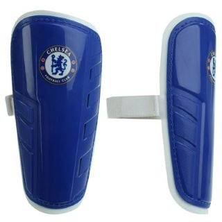 Team Football Shin Pads Junior Chelsea Lge Boys