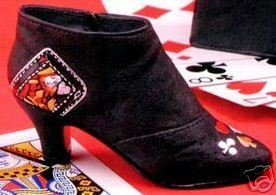 Just the Right Shoe - QUEEN OF HEARTS Boot - NEW