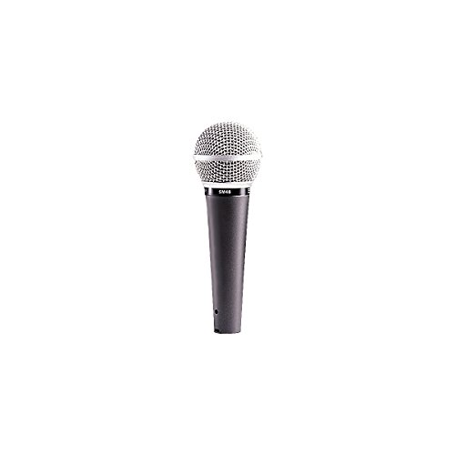 Shure Sm48-Lc Vocal Dynamic Microphone, Cardioid