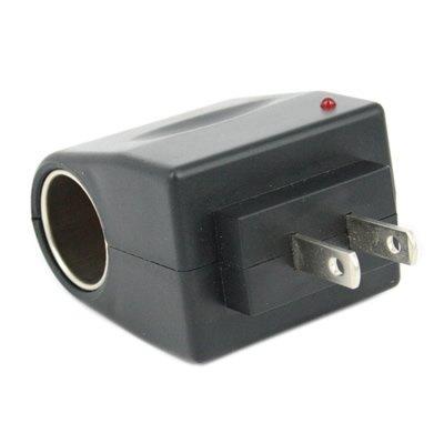 Tzou AC to DC Car Cigarette Lighter Socket Adapter US