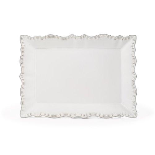 Mikasa Alviano Rectangular Platter - White