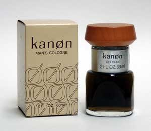 Kanon by Kanon Man's Cologne 2 oz Splash Distributed by Scannon and Blended with Essential Oils Imported from Sweden