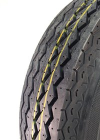4.80 x 4.00 - 8, 4-Ply Sawtooth Tire from Overstockwheels