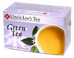 Uncle Lees Tea Jasmine Green Tea - 20 Count, 2 Pack