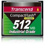 Transcend CF200I Industrial Grade - Flash memory card - 512 MB - CompactFlash