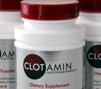 Clotamin Multivitamin Without Vitamin K Caplets 60's (No K) - Pack of 2
