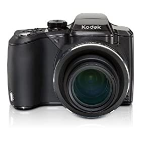 CLOSEOUT: Kodak EasyShare Z981 14MP **REFURBISHED** Digital Camera with Schneider-Kreuznach Variogon 26x Wide Angle Optical Image Stabilized Zoom Lens and 3.0 Inch LCD - 1020304**BRAND NEW (REFURBISHED) OUTSIDE BOX SMASHED BUT CAMERA NEW**