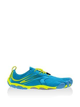 Vibram Fivefingers Escarpines Running Bikila Evo (Azul / Amarillo)