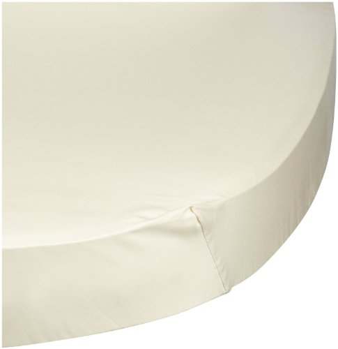 Bloom Luxo Sleep Organic Fitted Sheet (2 Pk) - Natural Wheat front-60714