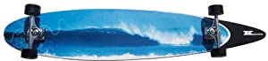Buy Krown Blue Wave City Surf Longboard Skateboard by Krown